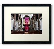 St Alban's Maundy Thursday Framed Print