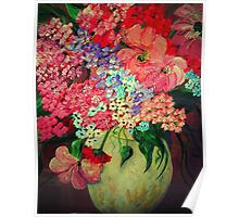 Fanciful Flowers Poster