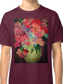 Fanciful Flowers Classic T-Shirt