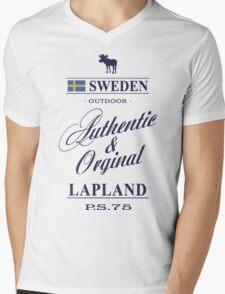 Lapland - Sweden Mens V-Neck T-Shirt