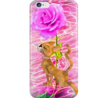 Sweet Rose Abstract iPhone Case/Skin