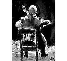 cello man Photographic Print