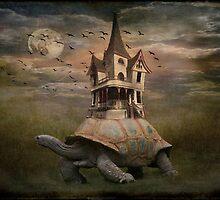 Moonlight traveler by MarieG