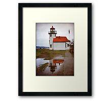 Point Robinson Lighthouse Framed Print