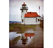 Point Robinson Lighthouse Photographic Print