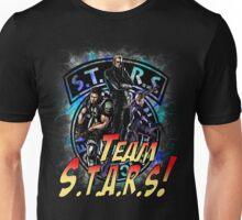 TEAM STARS! MVC3 edition! Albert, WESKER, Jill VALENTINE  and Chris REDFIELD Unisex T-Shirt