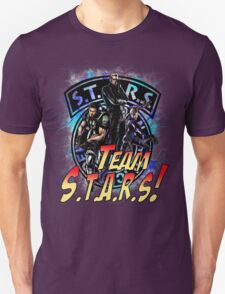 TEAM STARS! MVC3 edition! Albert, WESKER, Jill VALENTINE  and Chris REDFIELD T-Shirt