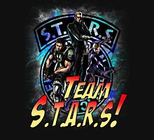 TEAM STARS! MVC3 edition! Albert, WESKER, Jill VALENTINE  and Chris REDFIELD Unisex T-Shirt