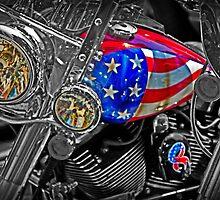 American Bike by GalleryThree