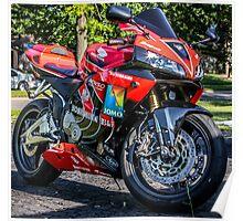 Honda CBR Poster