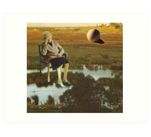 M Blackwell - The Despair That Only Enormous Golf Can Bring... Art Print