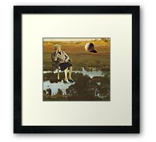 M Blackwell - The Despair That Only Enormous Golf Can Bring... Framed Print