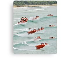 TL at Lorne collage (large version) Canvas Print