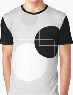 Grey Circles - 1 Graphic T-Shirt