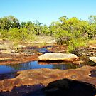 The magic of Arnhem Land - a rocky creek by georgieboy98