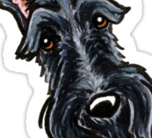 Scottish Terrier :: It's All About Me Sticker