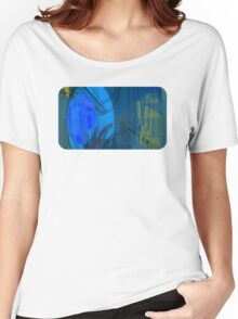 Candy Town Blue Women's Relaxed Fit T-Shirt