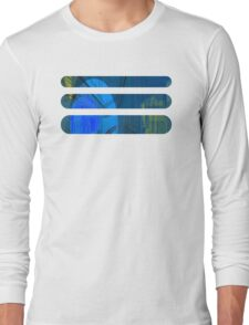 Candy Town Blue Long Sleeve T-Shirt