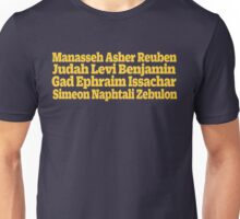 12 Tribes of Israel (Band) Unisex T-Shirt