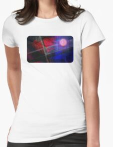 Caught In a Breeze Womens Fitted T-Shirt