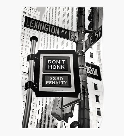 Honk for $350 Poster