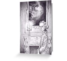 Rococo Vampire Greeting Card