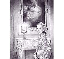 Rococo Vampire Photographic Print