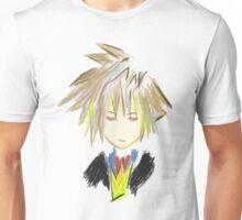 Kingdom Hearts 2 Sora sketch Unisex T-Shirt