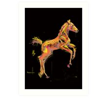 Foal 'Out and About' products Art Print