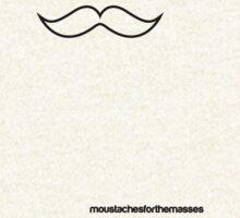 #Moustachesforthemasses by Jake Lamont
