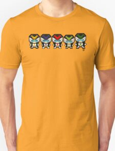 Mekkachibi Voltes Crew (Black Uniform) Unisex T-Shirt