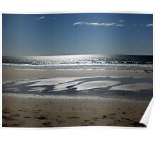 Shimmer, Beach near Penguin, Tasmania, Australia. Poster