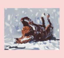 Horse-  snowflake fun Baby Tee