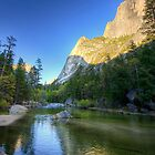 Reflecting Half-Dome - Yosemite N.P, California, USA by Sean Farrow