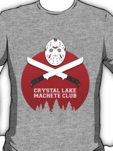 Crystal Lake Machete Club T-Shirt