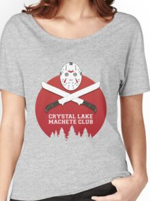 Crystal Lake Machete Club Women's Relaxed Fit T-Shirt