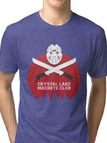 Crystal Lake Machete Club Tri-blend T-Shirt