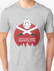 Crystal Lake Machete Club Unisex T-Shirt