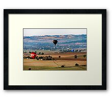The Landing Field Framed Print