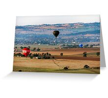 The Landing Field Greeting Card