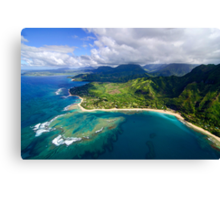 The North Shore of Kauai Canvas Print