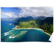 The North Shore of Kauai Poster