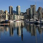 Granville Island Vantage Point by Heather  Hess