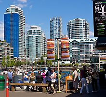 Vancouver downtown, Granville Island, 2012. by johnrf