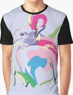 rabbit - Bunny in color Graphic T-Shirt