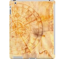 zodiac signs and astronomical clock iPad Case/Skin