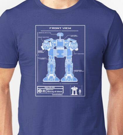 WALL-ED-209 Blueprint T-Shirt