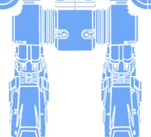 WALL-ED-209 Blueprint Sticker