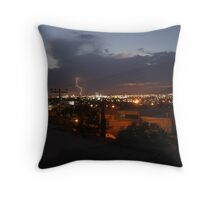Holly Lightning  Throw Pillow