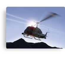 Huey Flyby Canvas Print